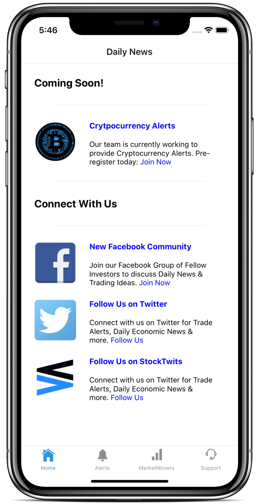 Millennial Investments - Daily Trade Alerts Mobile App